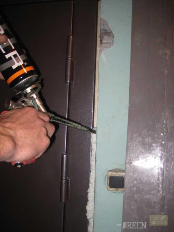 установка входных дверей своими руками пошаговая инструкция видео - фото 6