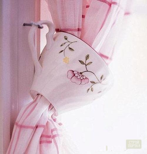 Декор для штор своими руками