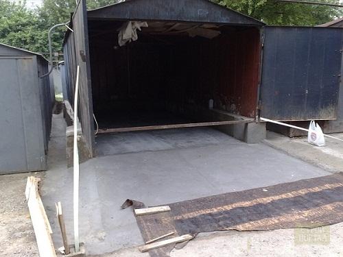 Забетонировать въезд в гараж