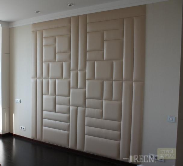 Мягкие панели для стен в интерьере