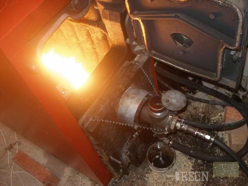 Печка в гараж из кирпича своими руками