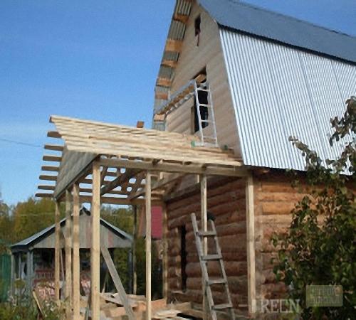 Крыша для терраса своими руками