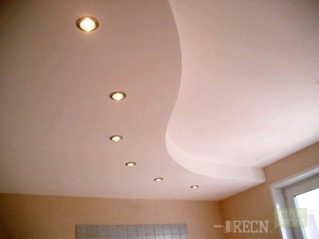 Форма подвесного потолка фото