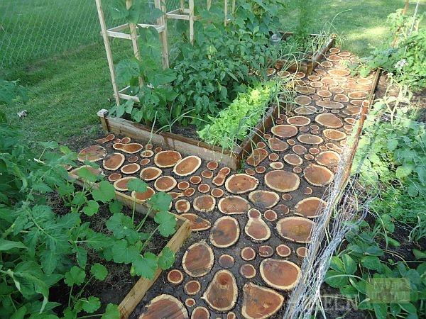 Садовые дорожки из поддонов своими руками