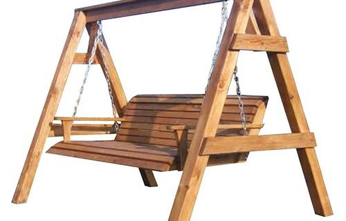 Качели своими руками: деревянные, металлические (фото) 79