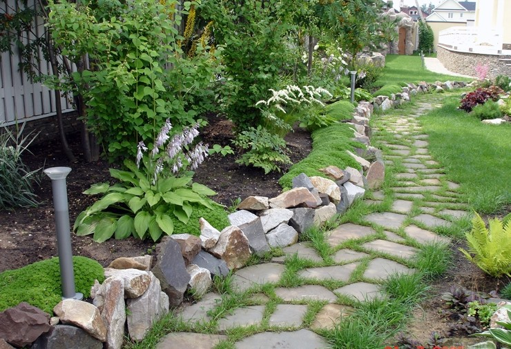 Благоустройство садовых участков своими руками