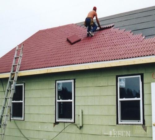 Как своими руками покрыть крышу ондулином своими руками