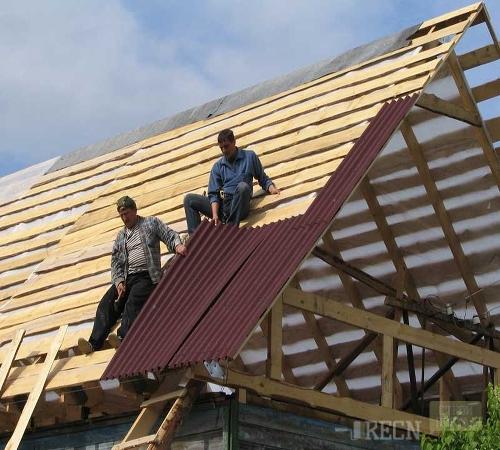 Как накрыть крышу ондулином фото 132-320