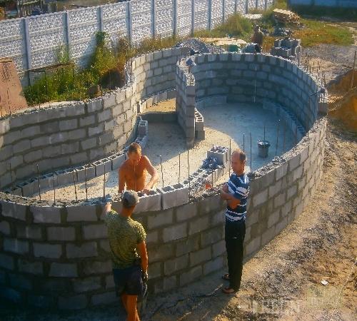 Постройка бассейнов своими руками