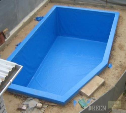 Плёнка для бассейнов монтаж в своими руками