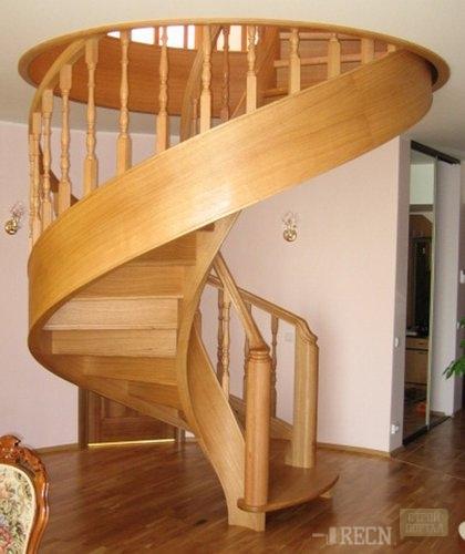 Как сделать деревянную лестницу на второй этаж своими руками фото