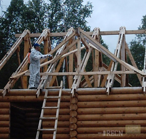 Крыша из профнастила своими руками: видеоинструкция 70