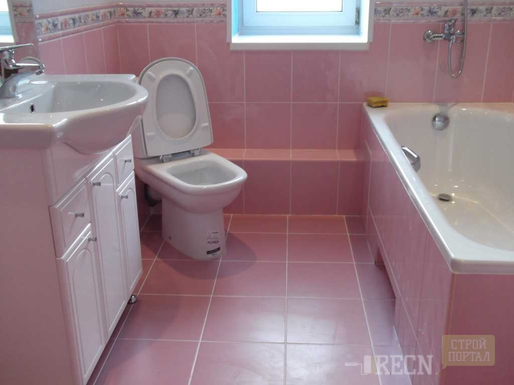 Дизайн ванной трубы