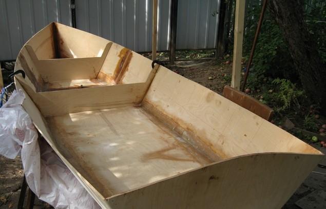 Для деревянных лодок