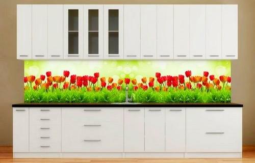 кухонный фартук из пластика основные преимущества и недостатки