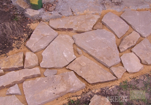 Укладка камня раствор