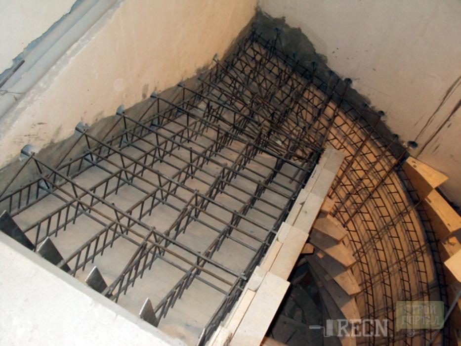 Изготовить лестницу бетонную своими руками