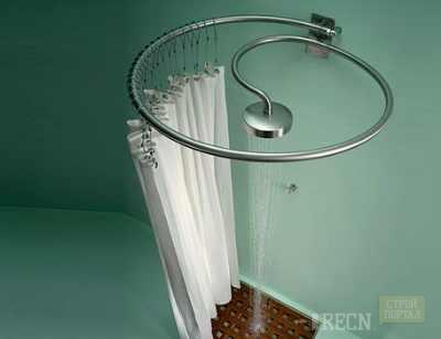 Штанга для ванной своими руками