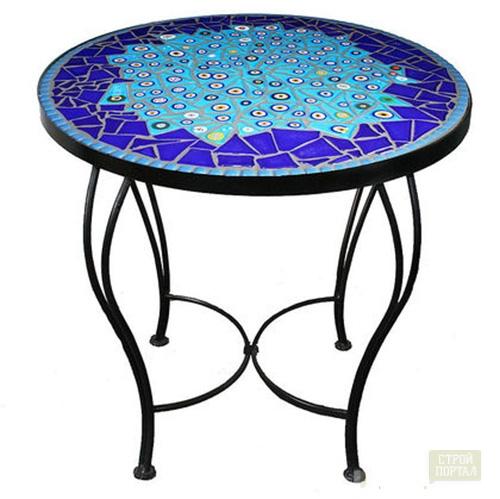 Сделать своими руками стол из мозаики