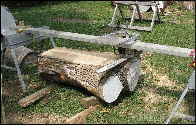 Козлы для распиловки дров своими руками