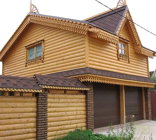 Деревянный гараж своими руками какой из чего и как строить 4