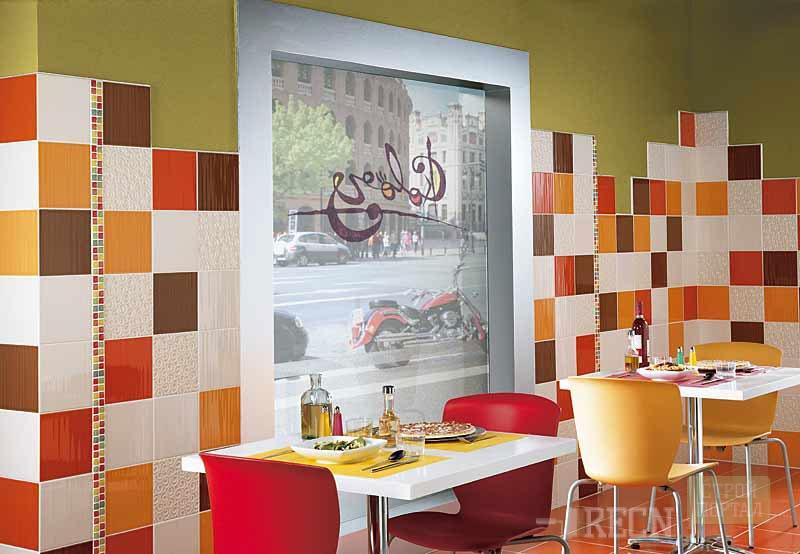 Ceramic tile paint colors