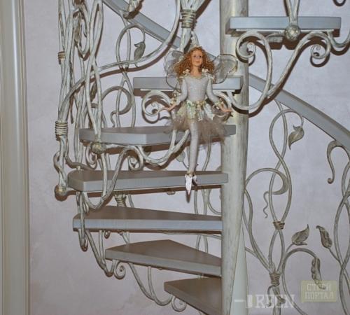 Винтовая лестницы своими руками из дерева