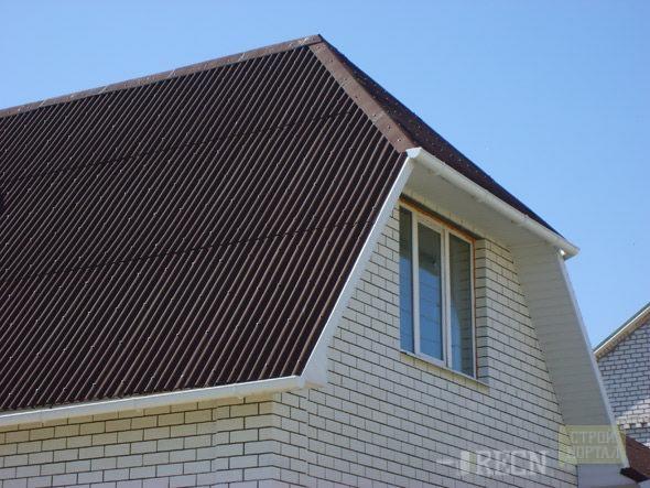 Виды мансардных крыш фото