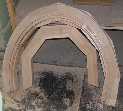 Как из дерева сделать арку из 63