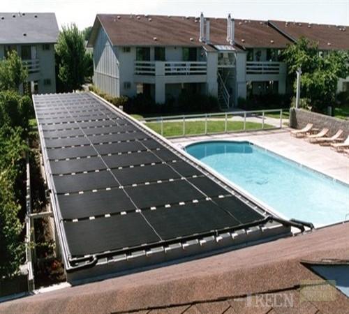 Солнечный коллектор для бассейна из поликарбоната своими руками