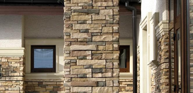 фото облицовки камень для фасада