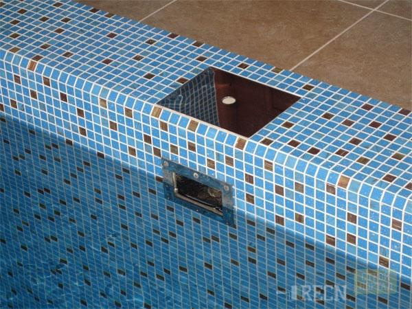 Встроенный скиммер для бассейна своими руками 53