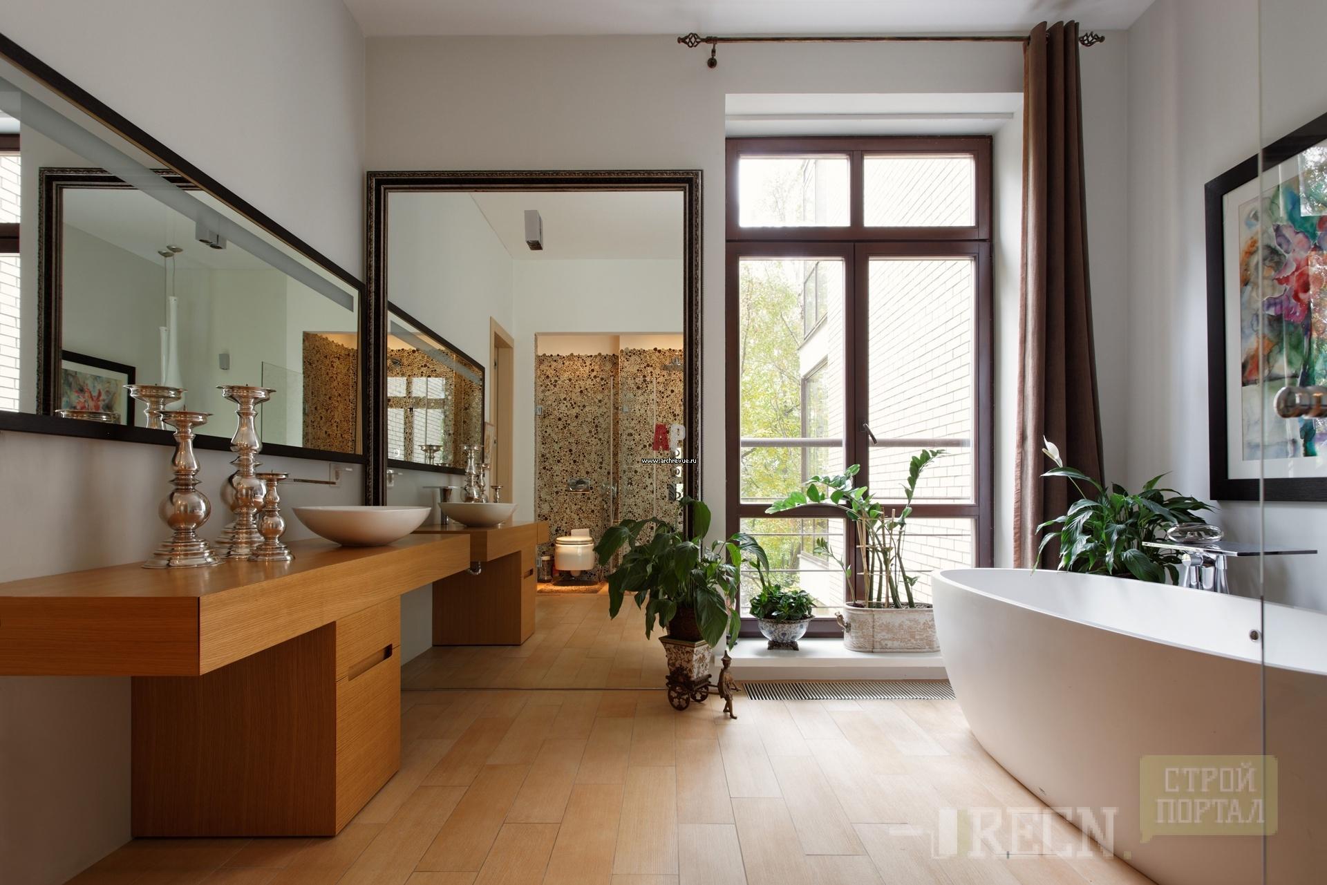 Французское окно на кухне фото