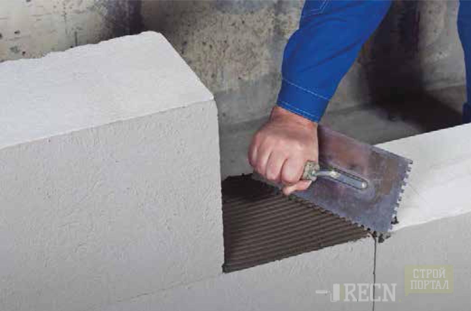 Как сделать цементный раствор для пеноблоков