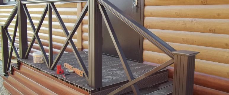 Крыльцо своими руками: деревянное