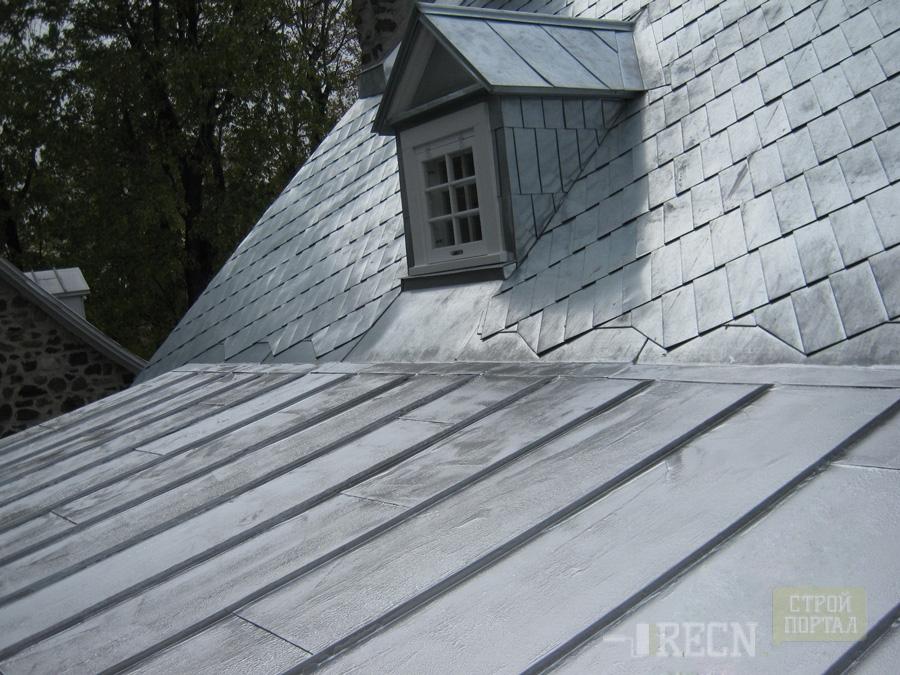 Оцинкованная крыша своими руками 654
