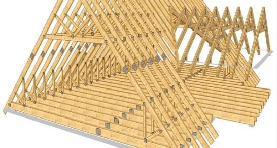 для как правильно сделать каркас вальмовую крышу объявления Недвижимость