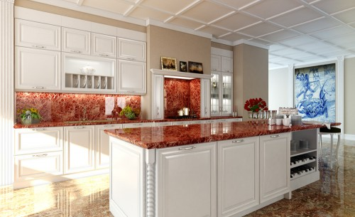 kitchen-marble