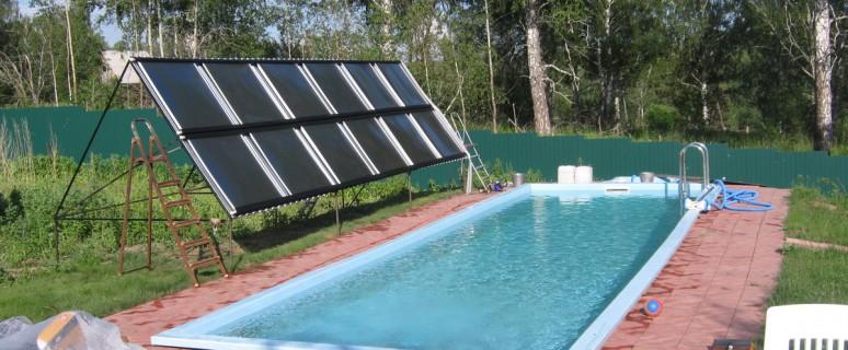 Солнечные обогреватели воды своими руками фото