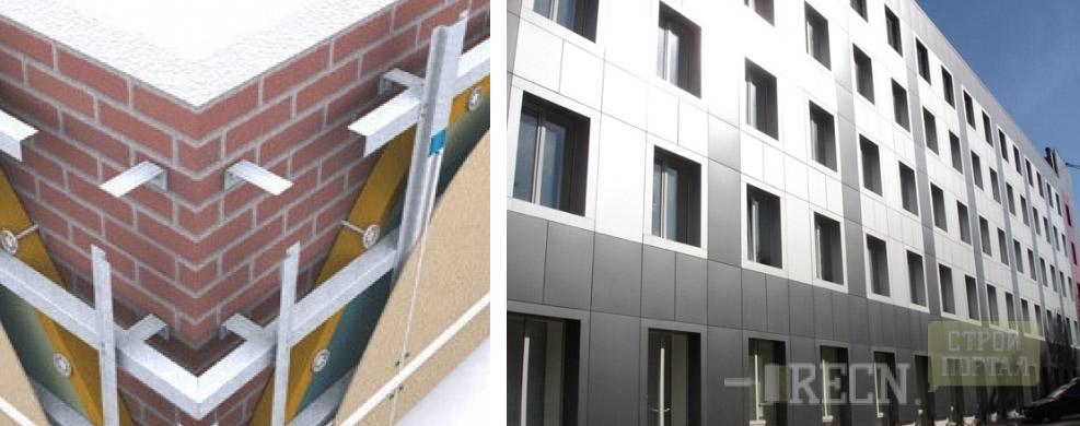 Инструкции по монтажу вентилируемых фасадов