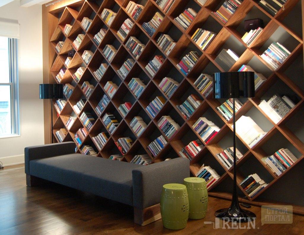 Дизайн домашних библиотек