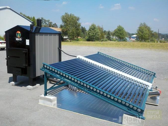 Из чего сделать солнечный коллектор своими руками