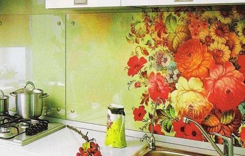 кухня своими руками из плитки фото