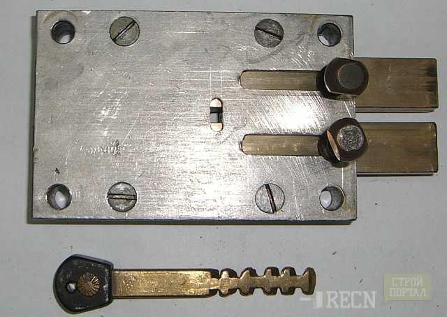 Схема установки накладного