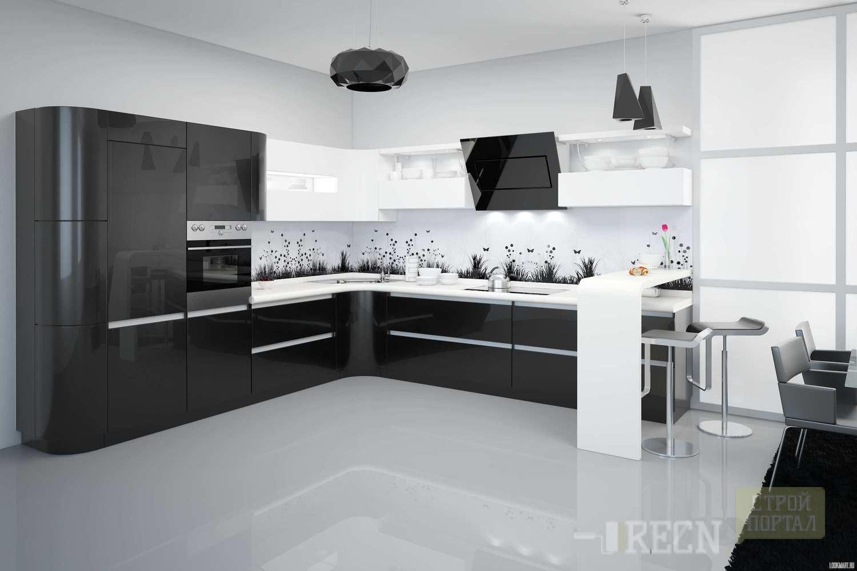 купить готовую угловую недорогую фабричную кухню в москве