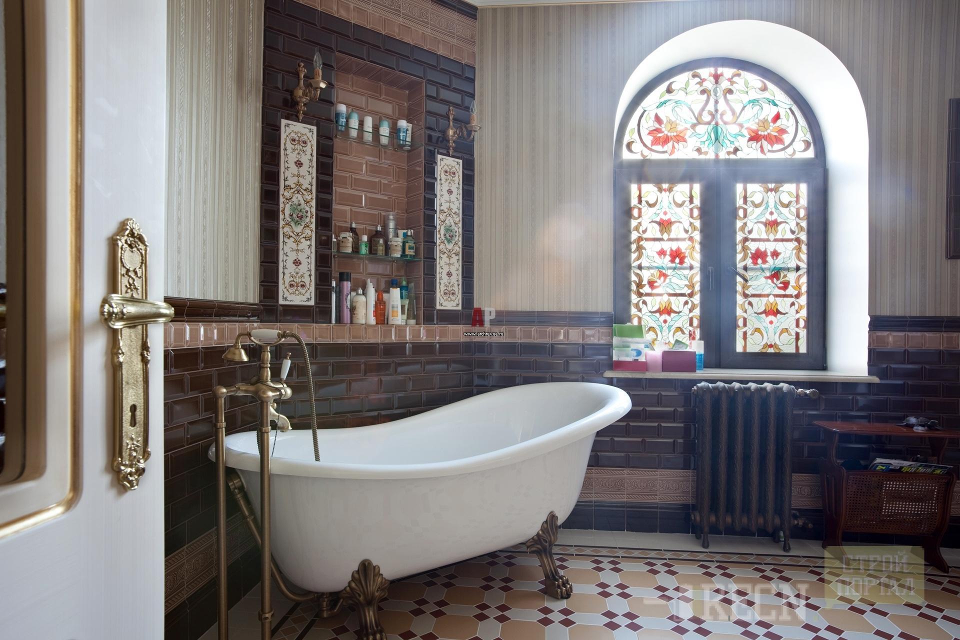 Ванна в английском стиле фото