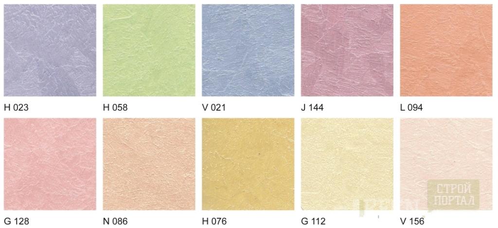 Теплые цвета красок для стен