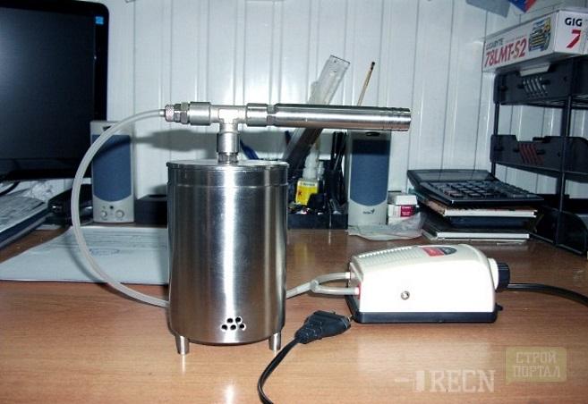 Коптильня холодного копчения с дымогенератором своими руками