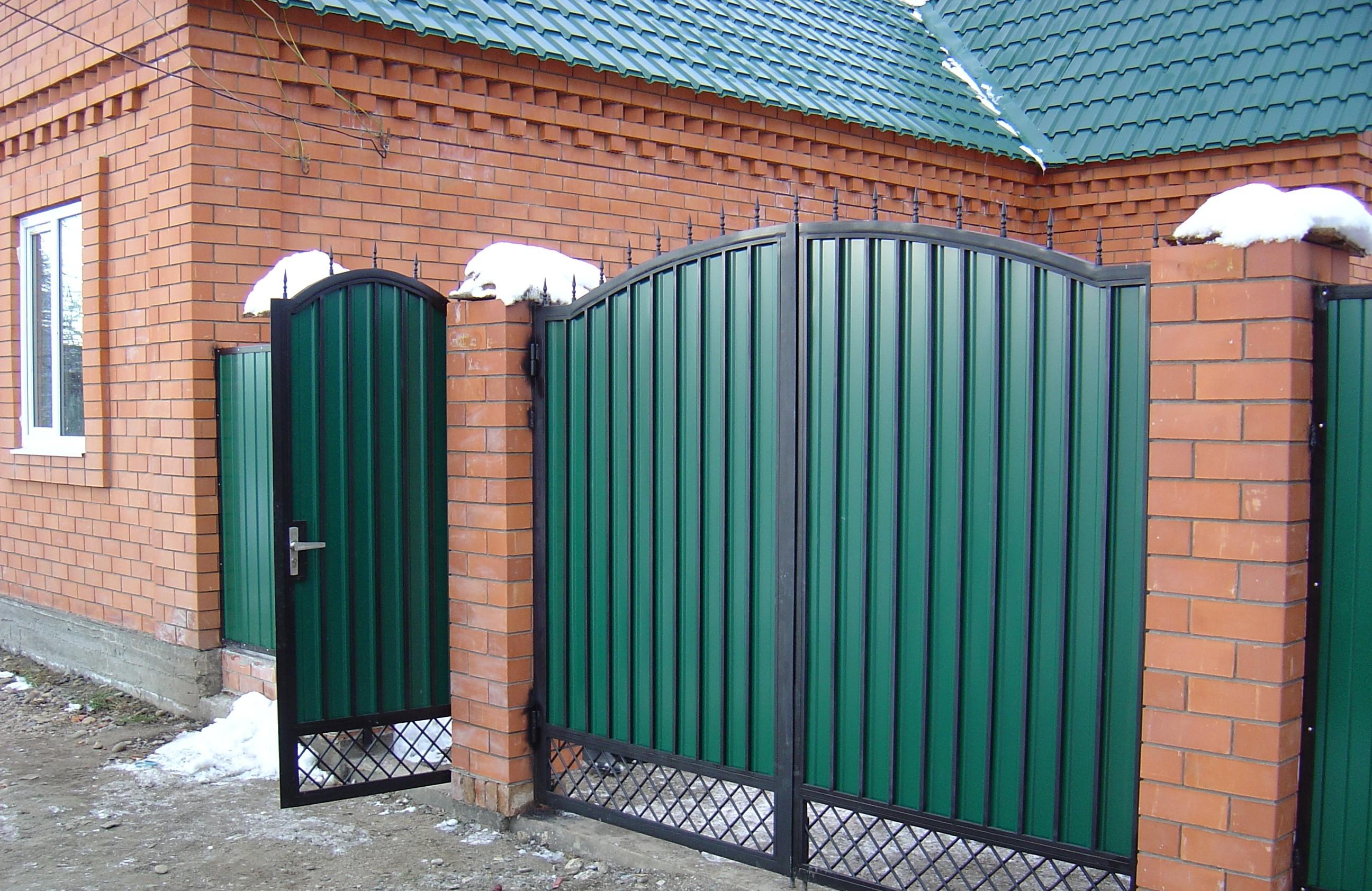 Ворота из профиля дом ворот боярка
