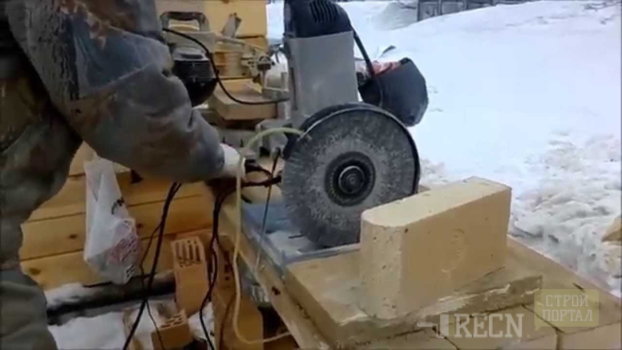 Станок для резки кирпича своими руками видео